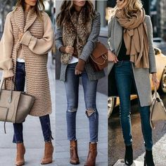 charming fall outfits ideas for women that looks cool 10 ~ my. charming fall outfits ideas for w. Cute Fall Outfits, Winter Fashion Outfits, Look Fashion, Autumn Winter Fashion, Casual Outfits, Womens Fashion, Fashion Trends, Fashion Dresses, Fashion Ideas