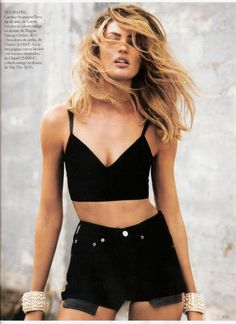 Candice Swanepoel // Vogue Spain April 2013