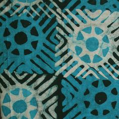 African Wax Batik #165 | West African Batik Fabric