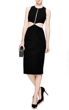 Power Viscose Dress with Pearls by Cushnie et Ochs - Moda Operandi