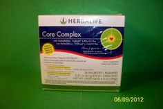 Herbalife Core Complex with CoQ10 Plus, 30 Packettes by Herbalife. $89.95. Target the four key indicators of heart health: cholesterol, triglycerides, homocysteine and oxidative stress.  Details Each packette contains 2 brown softgels of plant sterols and B Vitamins; 1 CoQ10 Plus softgel; 1 burgundy Tri-Shield® softgel with 100% pure Neptune Krill Oil (NKO®?); and 2 gold Herbalifeline® fish oil softgels with Omega-3 fatty acids.  Usage Take 1 packette per day with a...