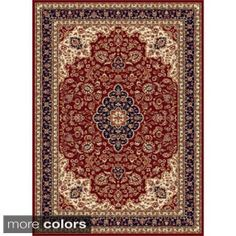 Shop for Alise Soho Traditional Area Rug (8' x11'). Get free shipping at Overstock.com - Your Online Home Decor Outlet Store! Get 5% in rewards with Club O! - 16468336
