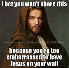 I thought he was a Jedi