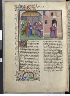 Fol 11v. Decameron. Boccace. Laurent de Premierfait. 15th c. Ms-5070