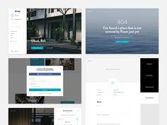 Roam - Subpages by Ales Nesetril #Design Popular #Dribbble #shots