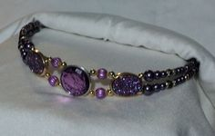 Beaded Horse Browband for Horse Bridle. by EquineInspirations