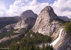 Nevada Fall & Liberty Cap, Yosemite National Park