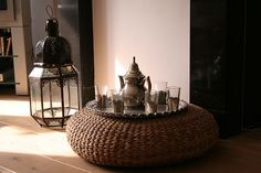 I have the footstool....love the lantern & coffee set.... by the style files, via Flickr