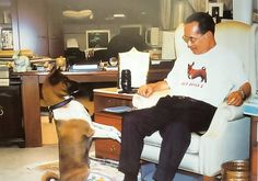 """King Bhumibol Adulyadej and Thong_Daeng, a female copper-colored dog, is one of the pets owned by King Bhumibol Adulyadej of Thailand. King Bhumibol adopted Thong_Daeng in 1998 from the litter of a stray dog that had been taken in by a medical center he had recently dedicated. """"A common dog who is uncommon"""""""