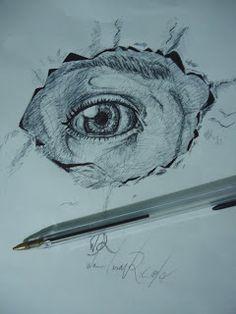 Wan Art Sci: EYE - Ballpoint Pen ボールペン