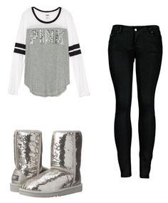 """Untitled #50"" by loveeetyy on Polyvore featuring 2LUV and UGG Australia"