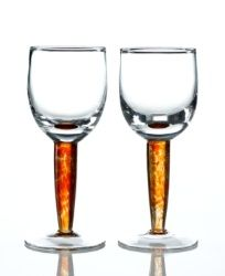 Gift Idea: Denby Glassware, Set of 2 Fire White Wine Glasses