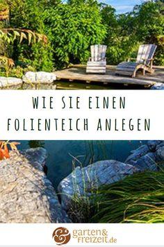 Ein Folienteich mit selbst modellierten Wasserzonen ist vielfach nicht nur die günstigste, sondern vor allem individuellste Form des Gartenteichs. Lesen Sie hier, wie Sie einen Folienteich ganz einfach selbst anlegen können. https://www.garten-und-freizeit.de/magazin/folienteich-anlegen