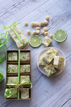 Thermomix Christmas Gifts - Macadamia Lime Fudge Recipe and Gift Ideas from The . Thermomix Christmas Gifts - Macadamia Lime Fudge Recipe and Gift Ideas from The 4 Blades. Christmas Fudge, Christmas Party Food, Xmas Food, Christmas Treats, Christmas Baking, Christmas Christmas, Christmas Recipes, Gifts For Cooks, Food Gifts