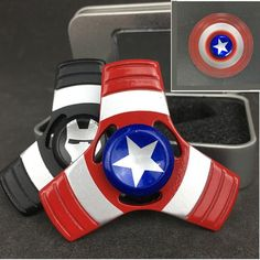 Fidget Spinner Captain America & War Machine-uShopping Express