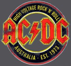 T-Shirt Mec AC/DC - High Voltage Australia - T-Shirts - Rock A Gogo