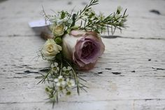 Wedding buttonholes - What Are My Choices? Ideas And Inspiration For Button Holes For Weddings. Buttonholes Including Rose Button Holes, Seasonal Button Holes And Quirky Button Holes. Dusky Pink Weddings, Mauve Wedding, Rose Wedding, Floral Wedding, Wedding Colors, Wedding Bouquets, Wedding Themes, Wedding Decorations, Wedding Buttonholes