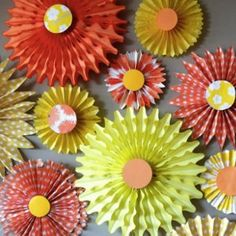Pretty Points Paper Pinwheels | AllFreePaperCrafts.com