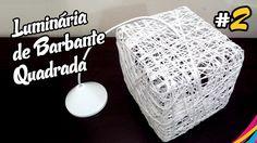 Lampara de Hilo Cuadrada - Como Hacer - DIY #2