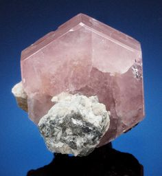 Minerals:Thumbnail, APATITE CRYSTAL. Haramosh Mts., Skardu District, Baltistan,Gilgit-Baltistan (Northern Areas), Pakistan. ... Image #1