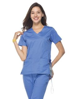 9f07653c9f6 My favorite scrub top. Blossom-Y-Neck Top with Princess Seaming- 1102. Maevn  Uniforms ...