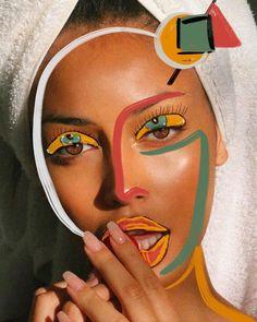 Zaid zawaidah line drawing illustrations abstract woman face line art print Photography Illustration, Photo Illustration, Art Photography, Mixed Media Photography, Beauty Illustration, Design Illustrations, Photographie Portrait Inspiration, Draw On Photos, Portrait Art
