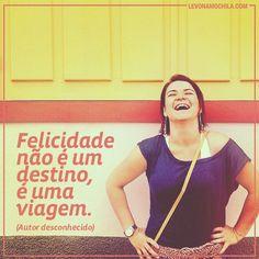 .@levonamochila   Pensamento do dia #levonamochila #frases #viagem   Webstagram - the best Instagram viewer