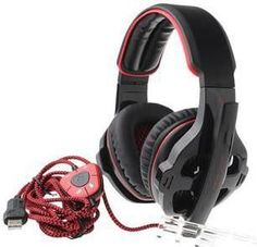 SA-903 USB Wired Gaming Headphones w/ Microphone