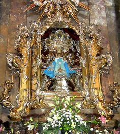 The Infant Jesus Of Prague, Our Lady of Victory, Prague.  We visited Him in Prague.