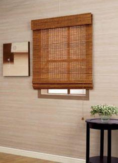 Home Bamboo Woven Wood Roman Shade Roman Shades Bamboo