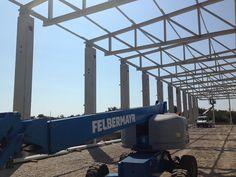 Hala Productie - Prolyte Industry | duna-steel.ro Steel Structure Buildings, Industrial, Train, Metal, Dune, Industrial Music, Metals, Strollers