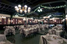 Antoines Lare Annex Room The vast, glistening main dining room is located just past the first dining room at the entrance, and is named the Large Annex .  It has been a local favorite for decades.  Many New Orleans families have had the same waiter for years.