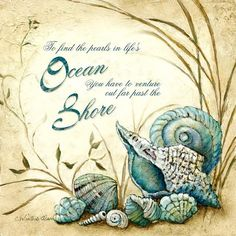 .To find the pearls in life's Ocean