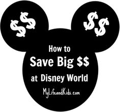 Such a simple idea! How to save thousands of dollars on a trip to Disney World.