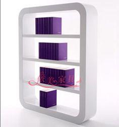 现代简约书柜书架时尚大气书柜书架个性创意书柜书架上海定制中-淘宝网