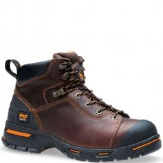052562214 Timberland PRO Men's Endurance Safety Boots - Dark Brown www.bootbay.com
