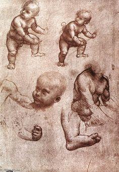 """""""Study of a child"""" Leonardo Da Vinci"""