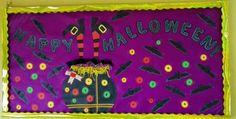 Nuestro hermoso mural en el 2do Nivel del #ColegioABCSchool inspirado en #halloween #americasbicultural #cademyrd #cademy #kids #mural #creatividad.