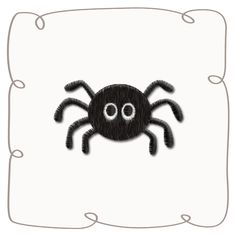 Spider Machine Embroidery Design pattern-INSTANT DOWNLOAD Halloween Designs, Machine Embroidery Designs, Spider, Pattern Design, Projects, Blue Prints, Spiders, Tile Projects