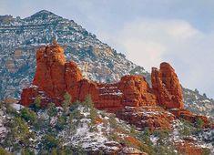 Snoopy Rock - Schnebly Hill Road, Sedona, Arizona