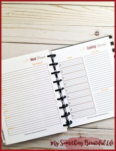 A Holiday Planner Notebook is the perfect way to stay on top of all your holiday planning! Something Beautiful, Life Is Beautiful, Printable Planner, Printables, Holiday Planner, Happy Planner, Notebook, Seasons, Holidays