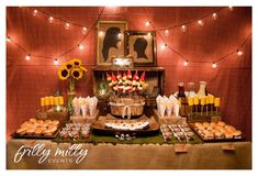 """Tasting party AND bridal shower 