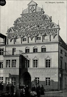 Stargard in Pommern,Apotheke Prussia, Poland, Louvre, World, Building, Travel, German Language, Apothecary, Germany