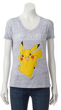 c5fb9ac5 Juniors' Pokemon Pikachu Graphic Tee Kohls Juniors, Pokemon Go, Pikachu, Graphic  Tees