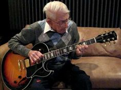Rock n Roll Great Grandpa - This 92-year-old is still rocking on his Gibson guitar. Watch as he plays the instrumental part of the classic gospel song Just A Closer Walk With Thee. Follow along with the lyrics below!