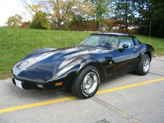 1979 Corvette coupe -mine was midnight blue with those wonderful T tops that, with a couple quick clicks, could be easily stored in the back while driving down the road!