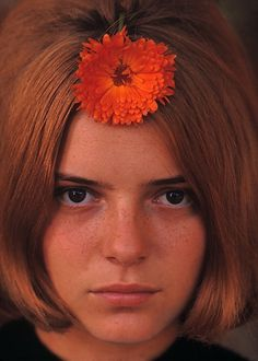 France Gall by Jean Marie Perier