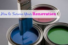 Scared you won't stay sane while your home gets remodeled? Check out these simple tips from @janicesimon that will help you survive your renovation. http://bit.ly/1DCSltP  #remodeling #renovations #organizing