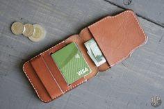 Slim Leather Wallet Mens Wallet Minimalist Wallet