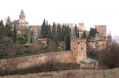 La+Alhambra+-+Panorámica+desde+el+Generalife,+Granada